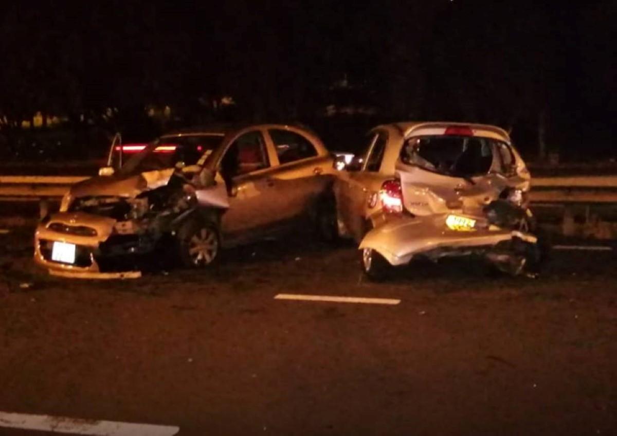 Accident à Rose-Belle: collision entre deux voitures sur l'autoroute