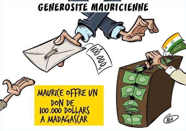 [KOK] Le dessin du jour : Générosité mauricienne