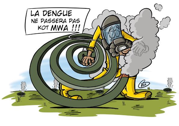 L'actualité vu par KOK : La dengue ne passera pas Kot MWA !