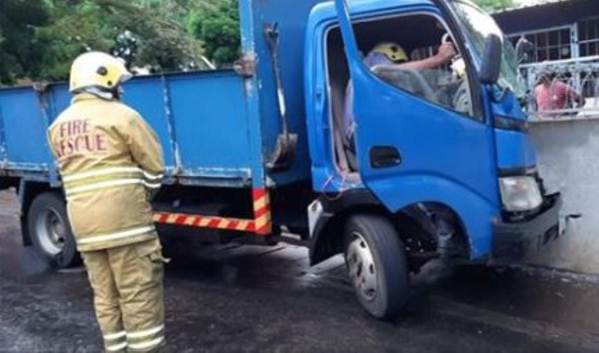 Piton : Un accident de la route ce samedi matin a fait quatre blessés