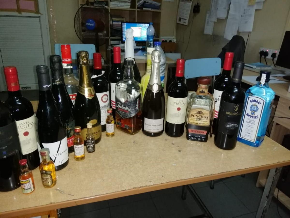 10 personnes arrêtées pour vol avec effraction dans un bar à Goodlands