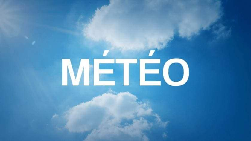 La météo du vendredi 29 mars 2019