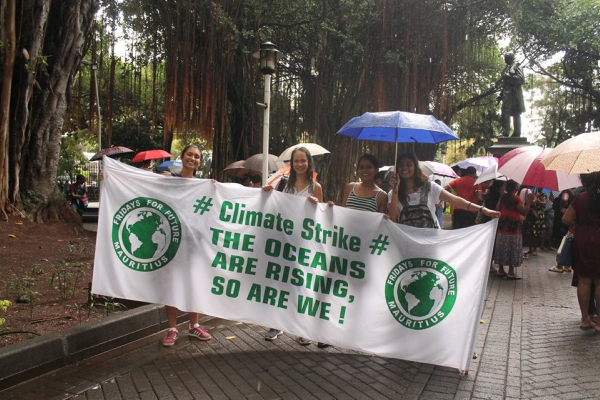 Crédit photo : Fridays For Future Mauritius
