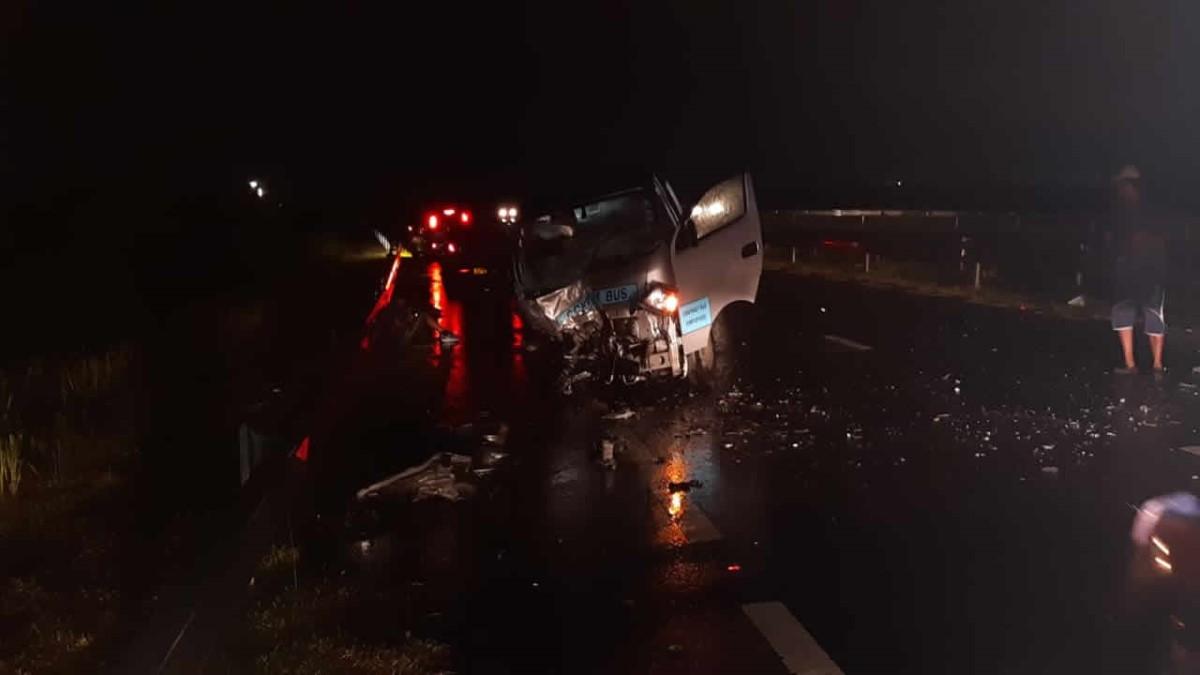 Accident mortel à Ebène entre deux véhicules