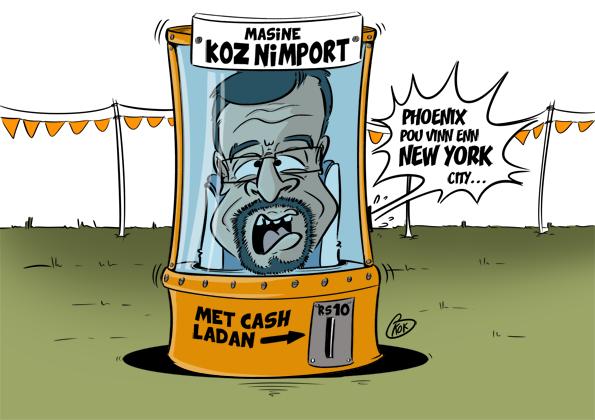 L'actualité vu par KOK : Masine Koz Nimport