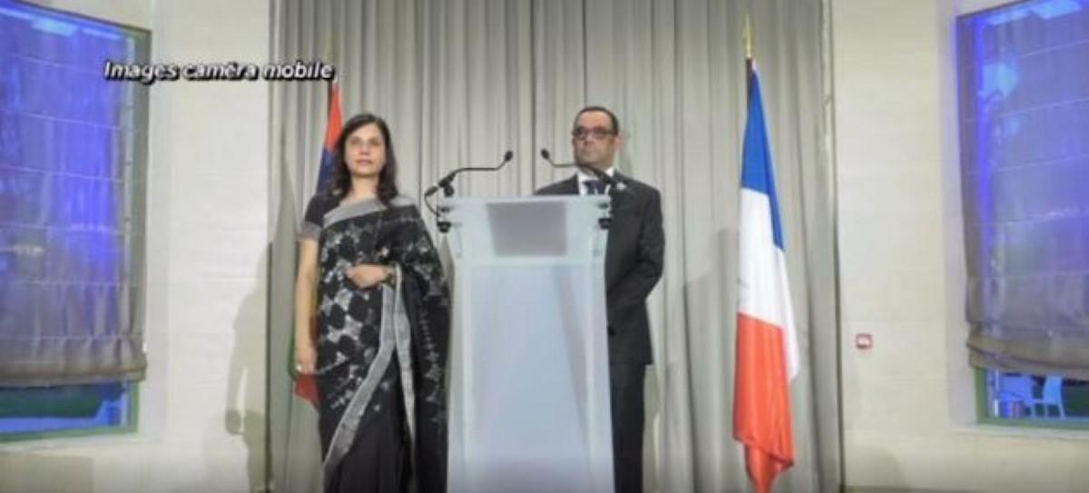 Ambassade de Paris : La fête nationale célébrée avec comme invitée d'honneur Kobita Jugnauth