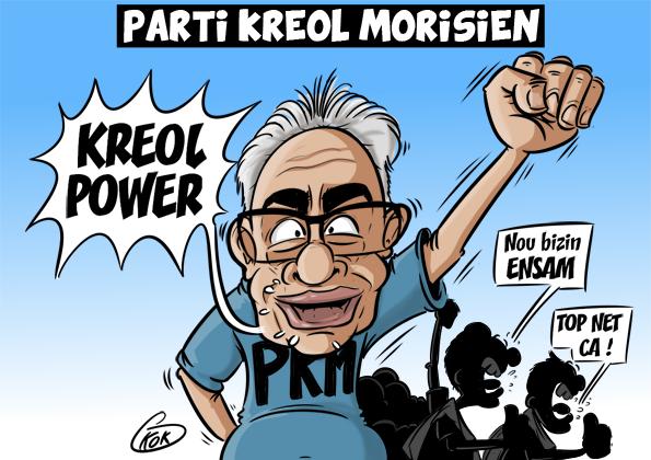 L'actualité vu par KOK : Parti Kreol Morisien