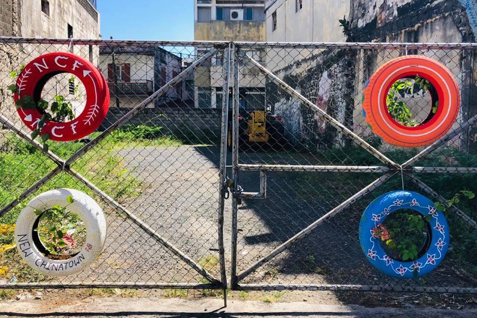 "[Diaporama] ""Green Chinatown"" à Port-Louis"