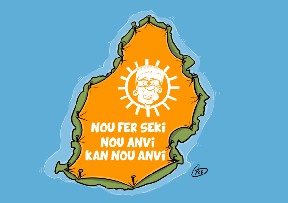 L'actualité vu par KOK : Nou fer Seki Nou Anvi... Kan Nou Anvi