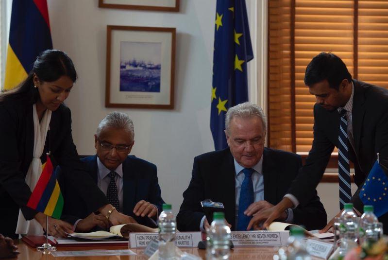 Education/Emploi : l'Union européenne offre Rs 305 millions