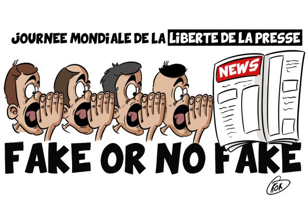 [KOK] Le dessin du jour : Journée mondiale de la liberté de la presse 2019