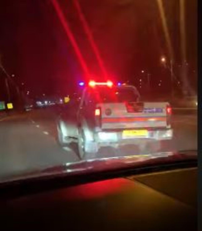[Vidéo] Course poursuite d'un étudiant qui s'est enfuie dans une voiture de police