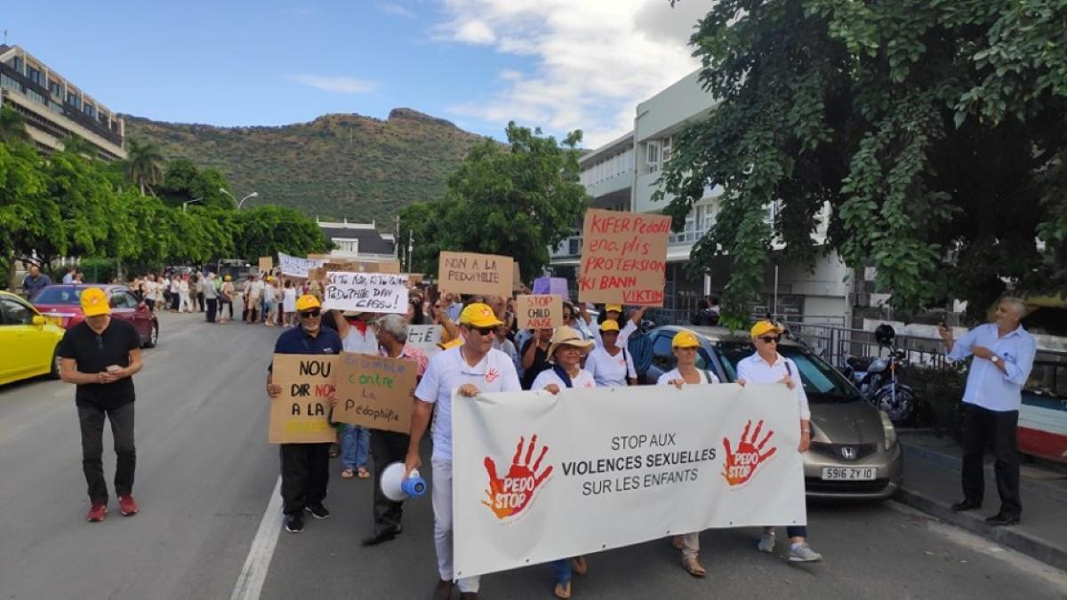 Crédit photo : Page Pédostop - contre la pédocriminalité à  Maurice