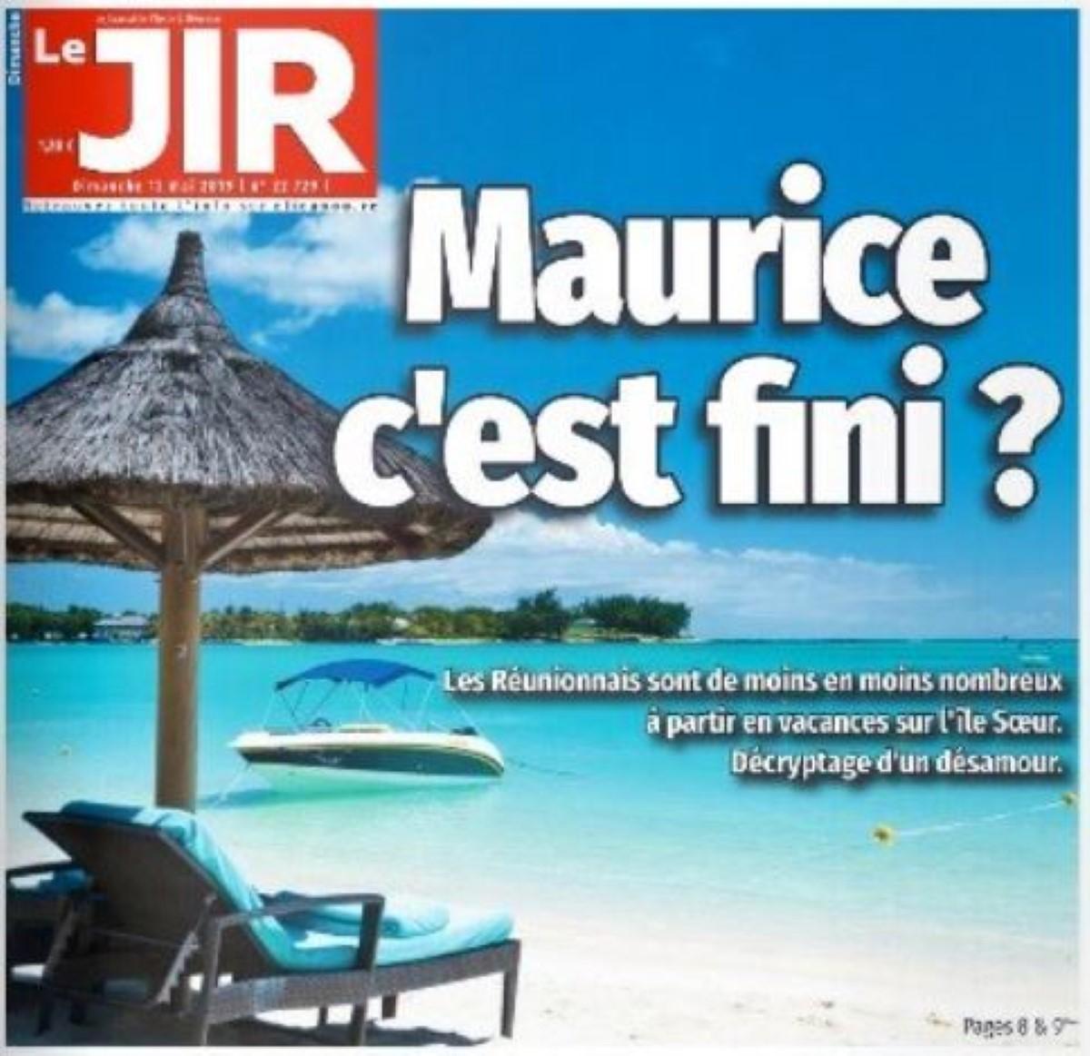 Le désamour des touristes Réunionnais pour la destination Ile Maurice se confirme