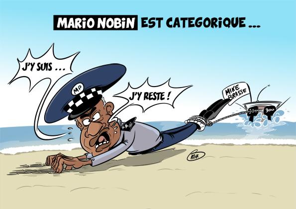 [KOK] Le dessin du jour : Marion Nobin est catégorique...