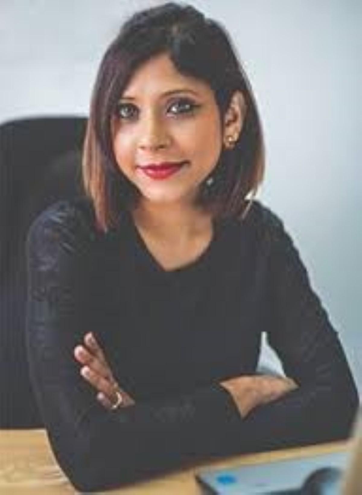 La rédactrice en chef, Zahira Radha