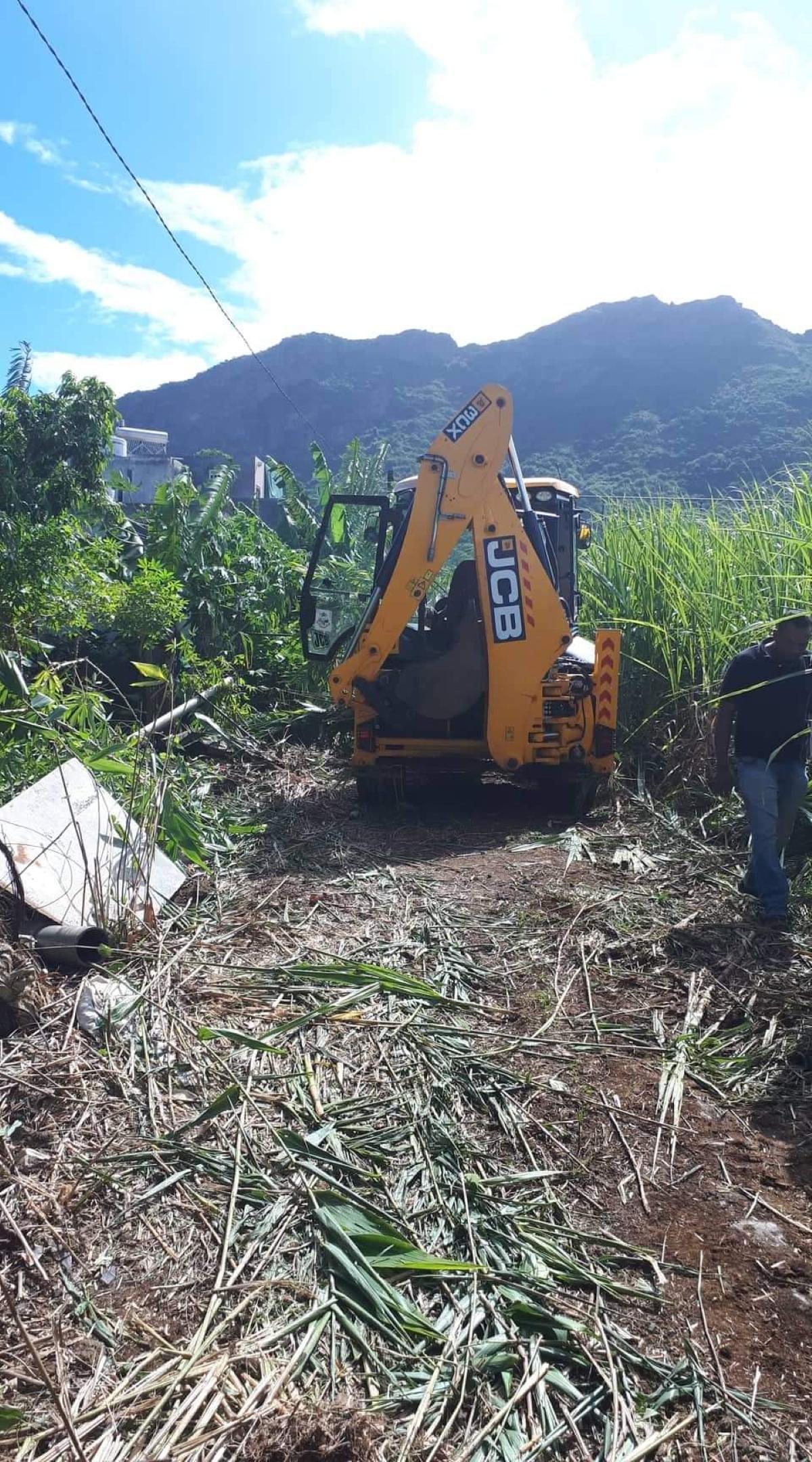 """Au moins deux familles adressent des plaintes aux autorités concernées, après ce """"nettoyage"""" à la va-vite"""