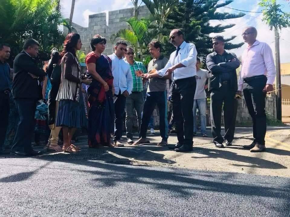 Opération de charme politique à Bois Chéri, Moka