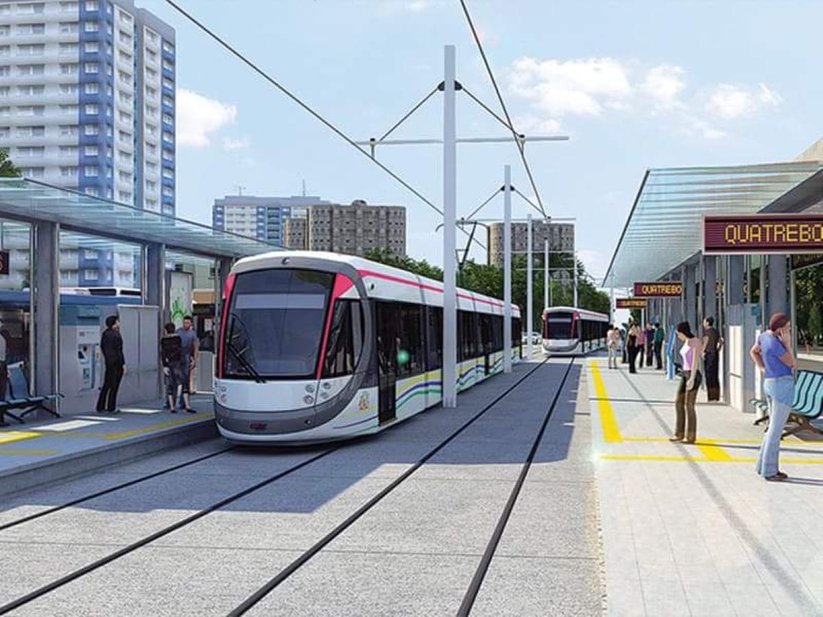 Vers la fin des travaux du Metro express à Rose-Hill