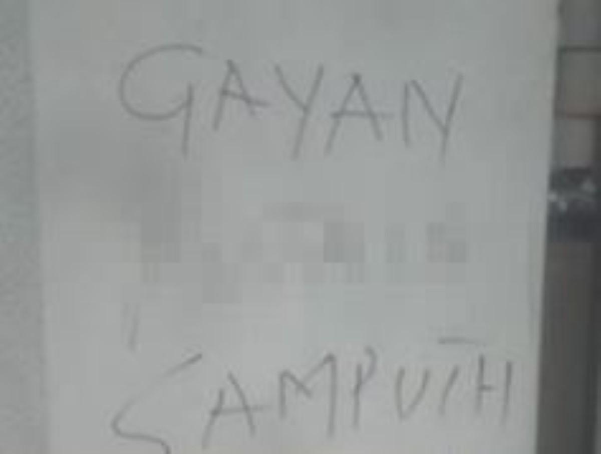 Affaire Gayan : Les murs d'une école vandalisés à Port-Louis