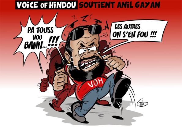 L'actualité vu par KOK : Le VOH soutient Anil Gayan