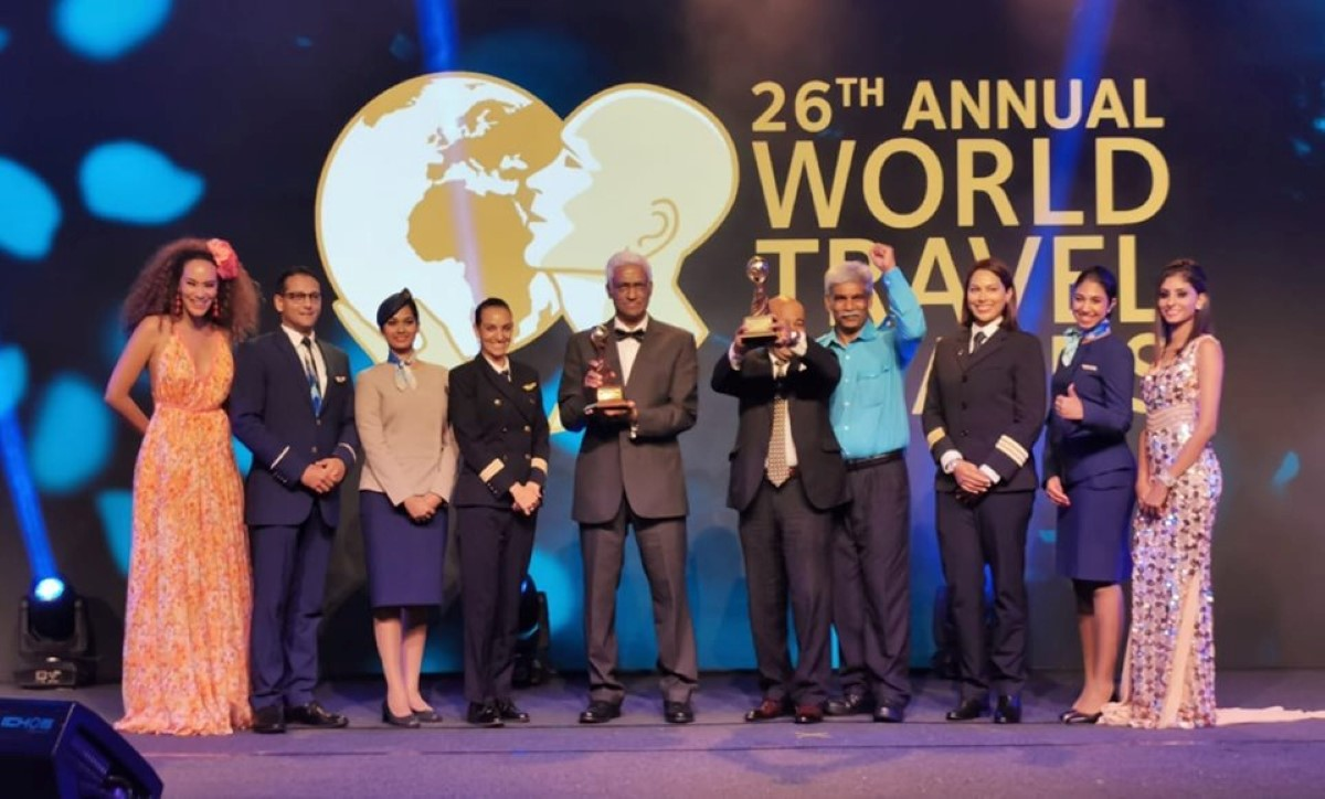Air Mauritius wins the Indian Ocean's Leading Airlines 2019