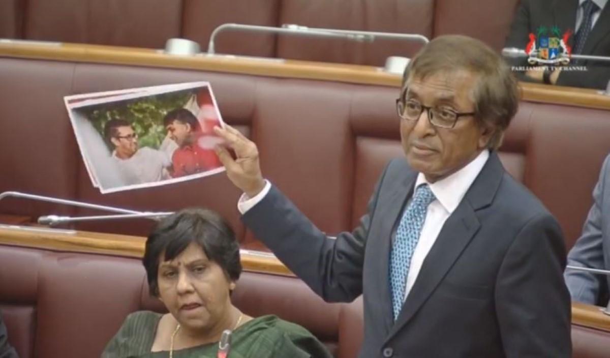Assemblée nationale : Anil Gayan brandit des photos d'hommes politiques avec des présumés trafiquants de drogue