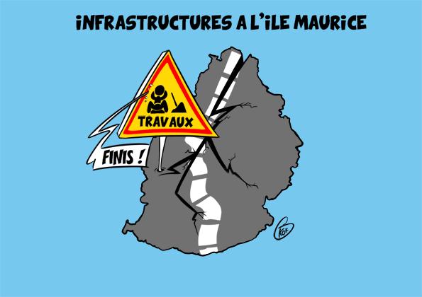 [KOK] Le dessin du jour : Les travaux à l'île Maurice