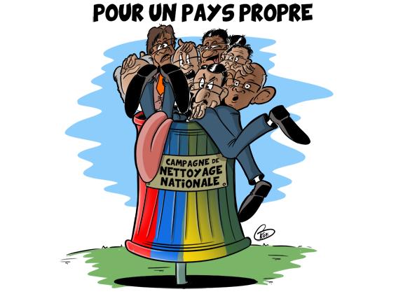 [KOK] Le dessin du jour : Campagne de nettoyage nationale