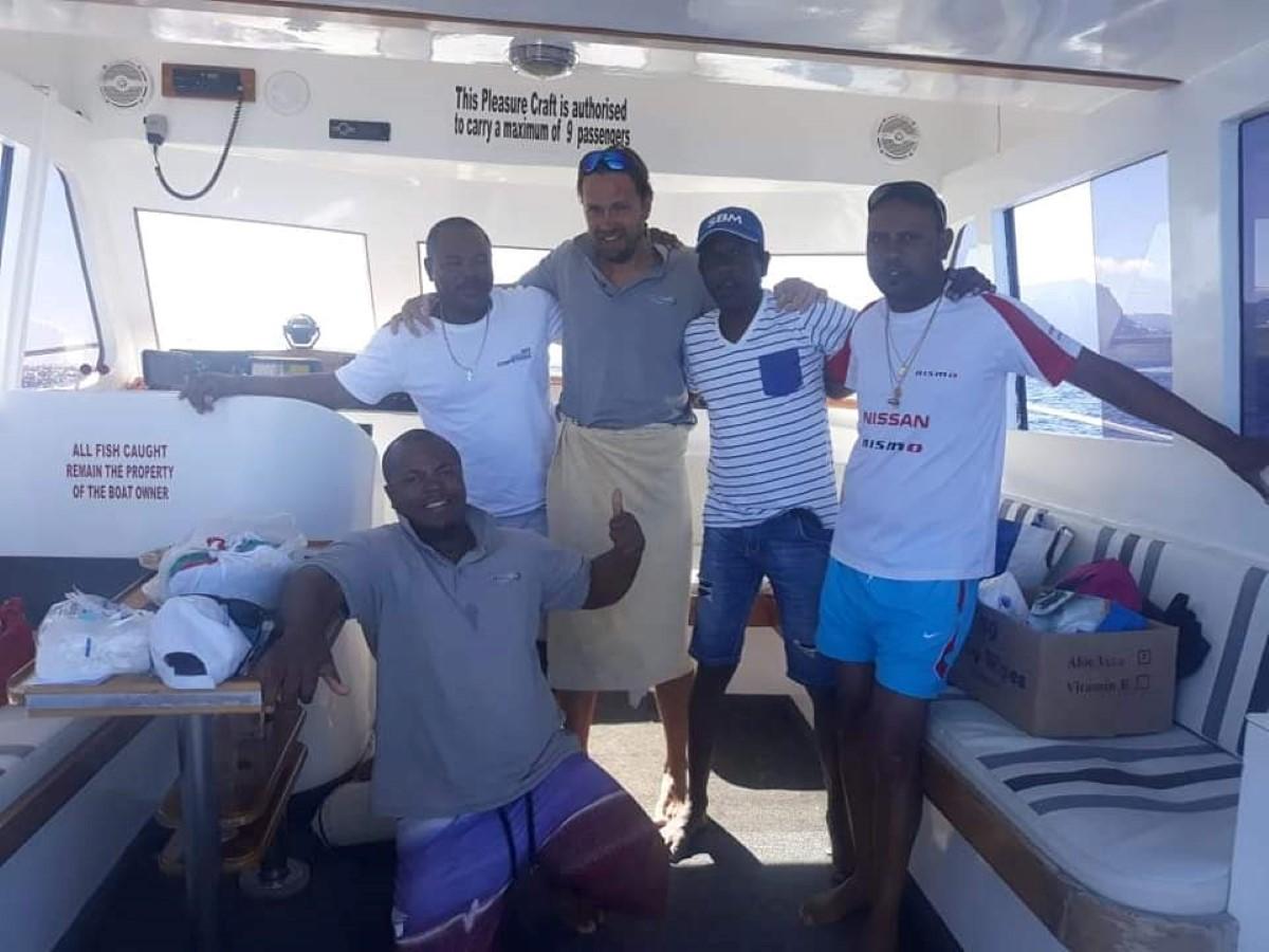 Le touriste russe secouru en mer grâce aux pêcheurs