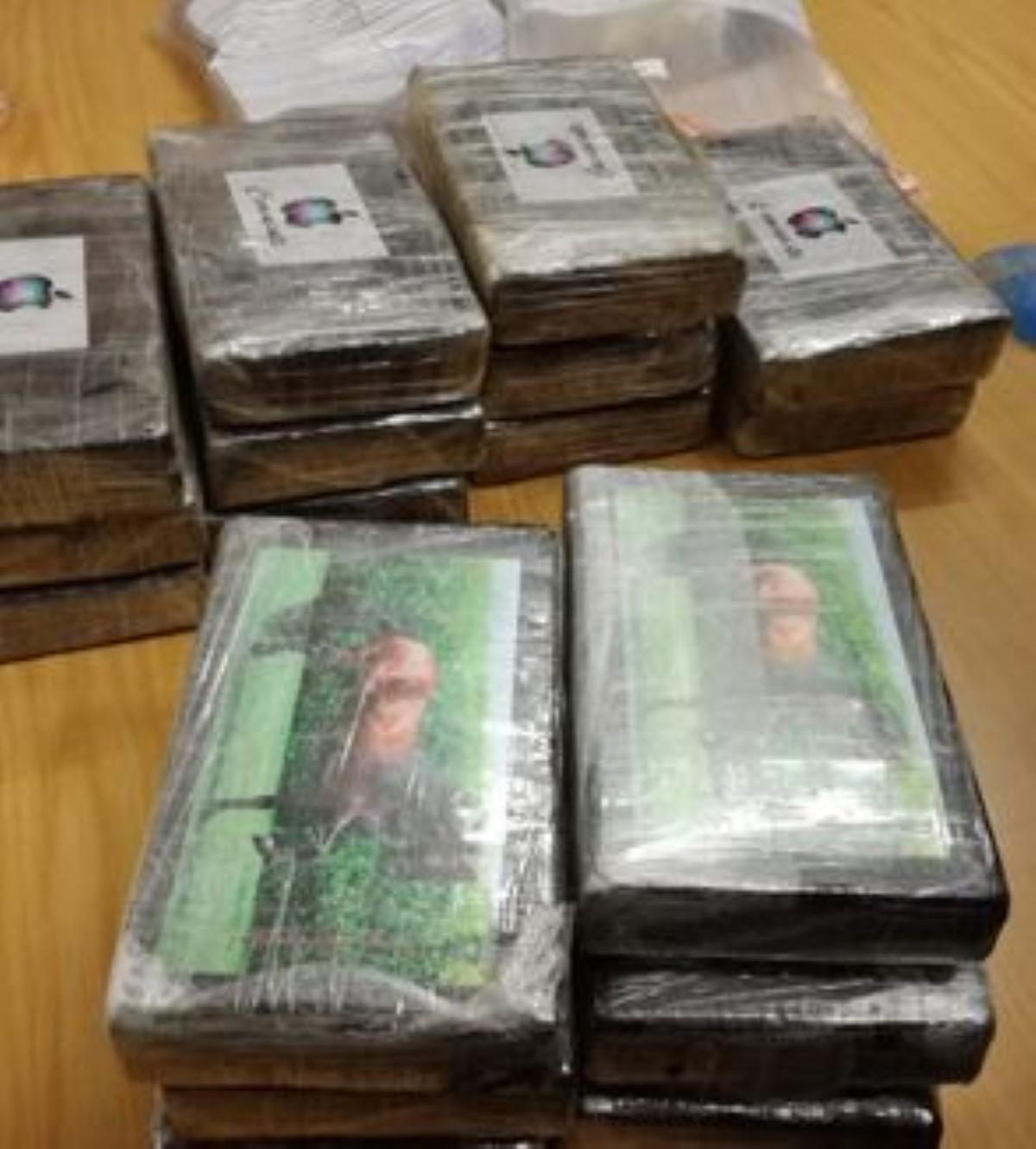 Pailles : Saisie record de 92.5 kilos de cocaïne, valant plus de Rs 1,4 milliard