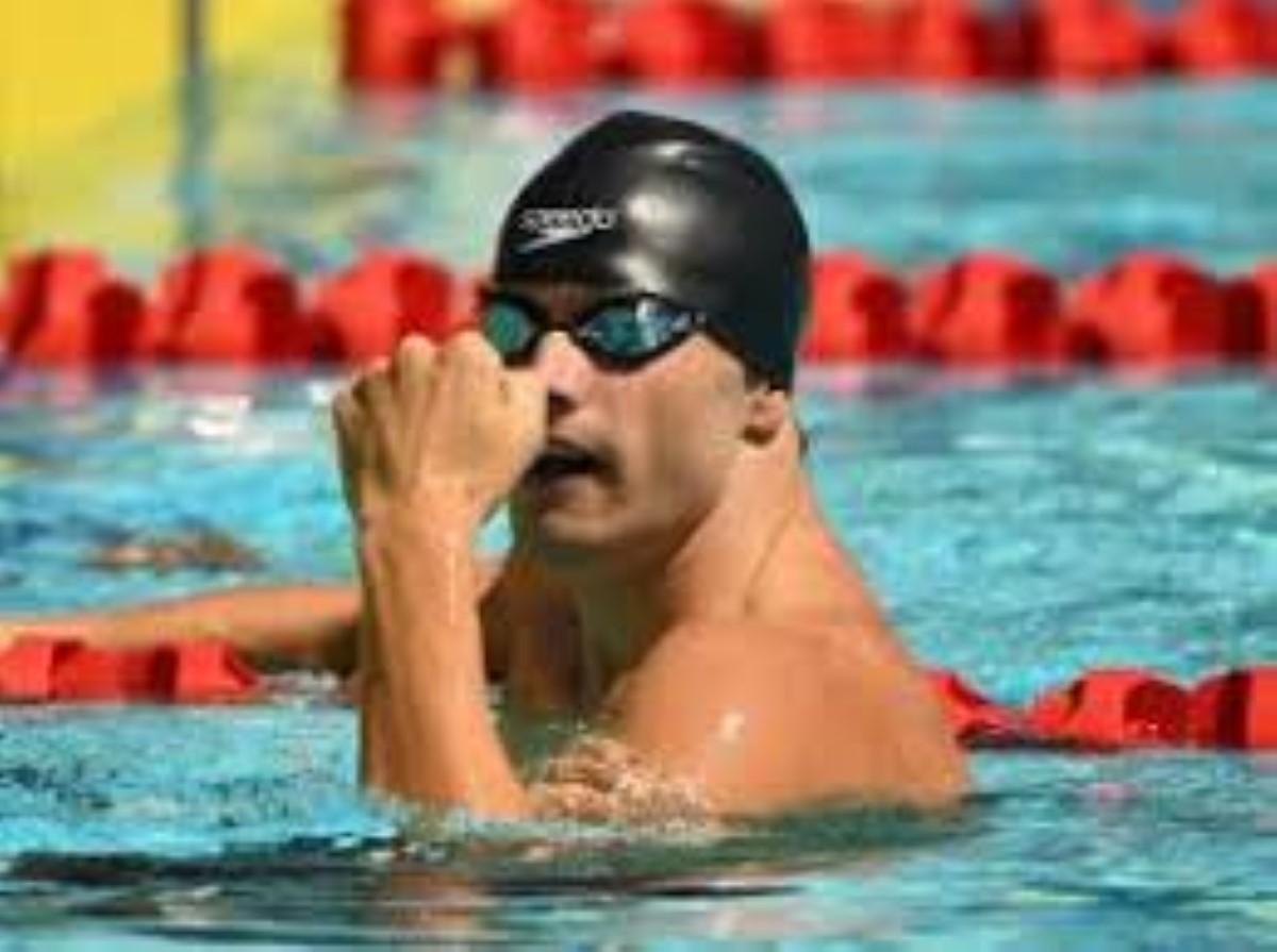 JIOI 2019 - Natation : Bradley Vincent remporte la médaille d'or au 50 m nage libre