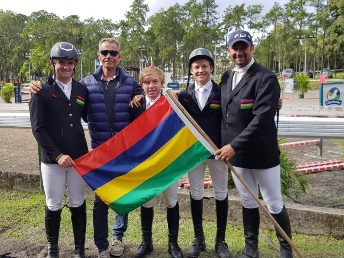 JIOI 2019 - Equitation : De l'or pour l'équipe mauricienne