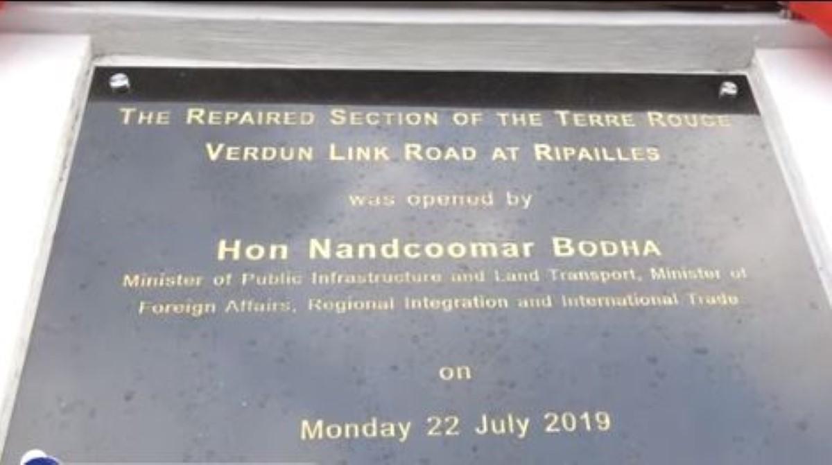Autoroute de Verdun : Mégalomanie du ministre Nando Bodha
