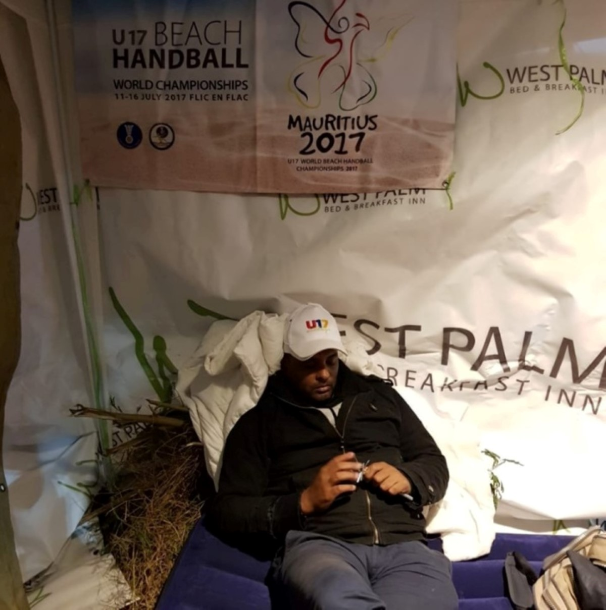 10e jour de grève de la faim : Gérald Alcindor proteste contre la Mauritius Handball Association