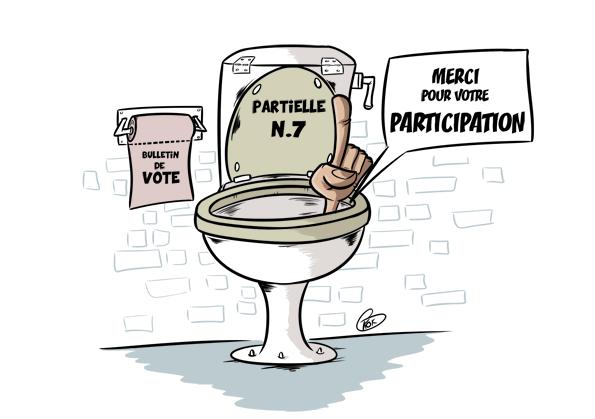 L'actualité vu par KOK : Partielle n°7