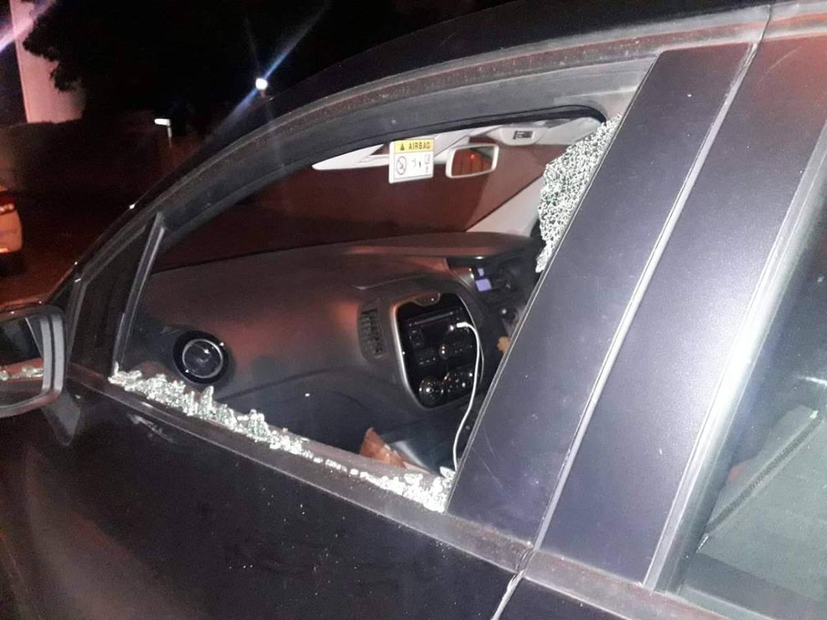 Rose-Hill : La voiture de Joanna Bérenger vandalisée
