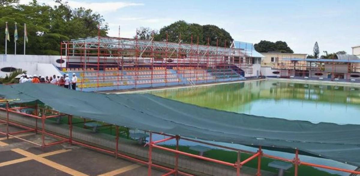 La piscine Serge Alfred fermée au public après une rénovation au coût de Rs 62 444 021