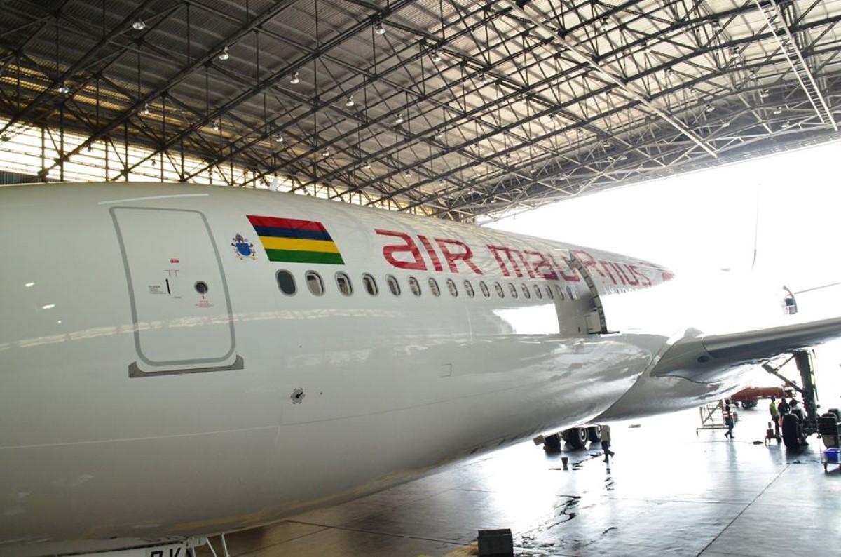 Air Mauritius : Le Chagos Archipelagos A 330neo rebaptisée Shepherd One pour la visite du Pape