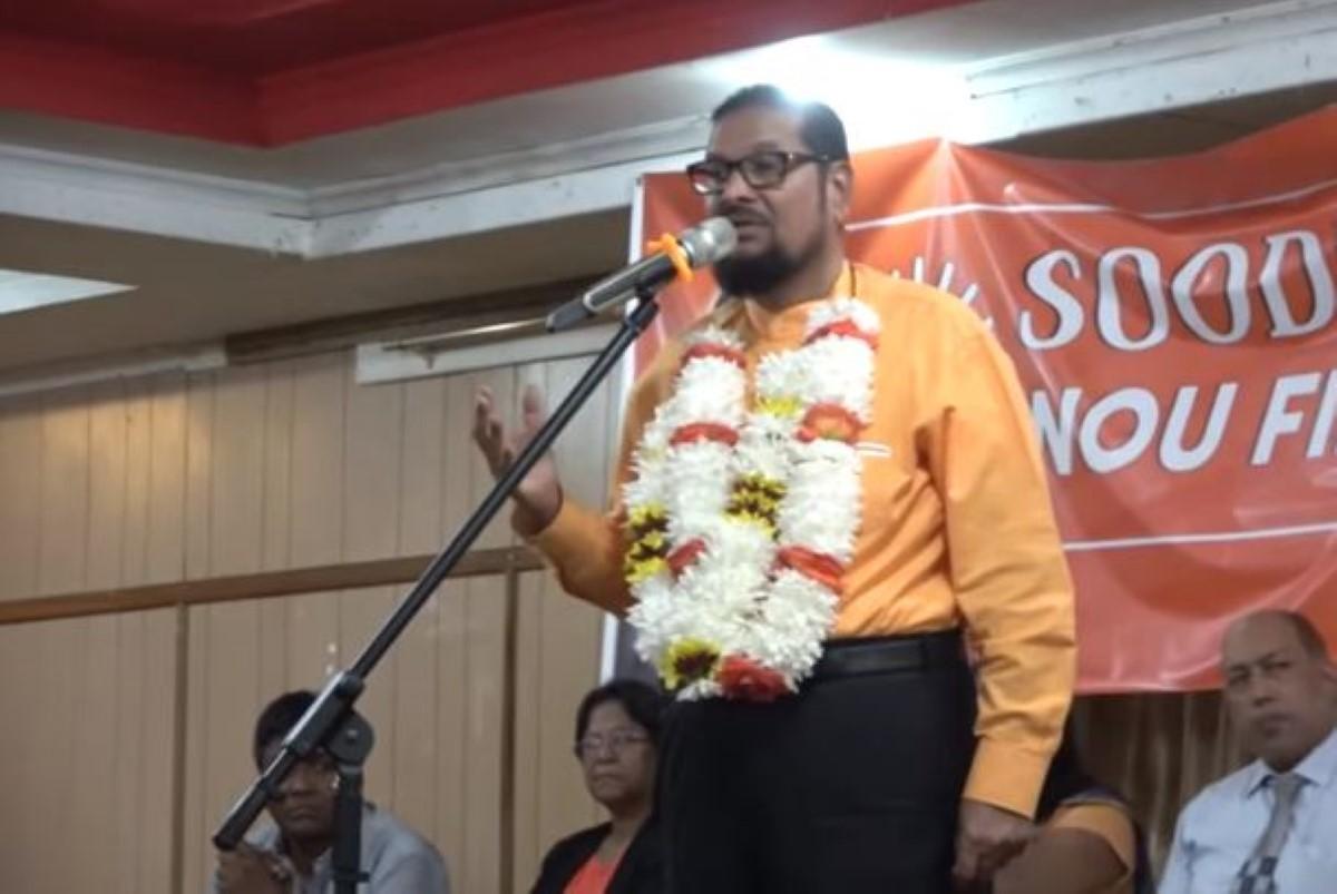 Soodhun s'impose aux législatives et annonce sa candidature au no. 15 Vacoas/ New-York