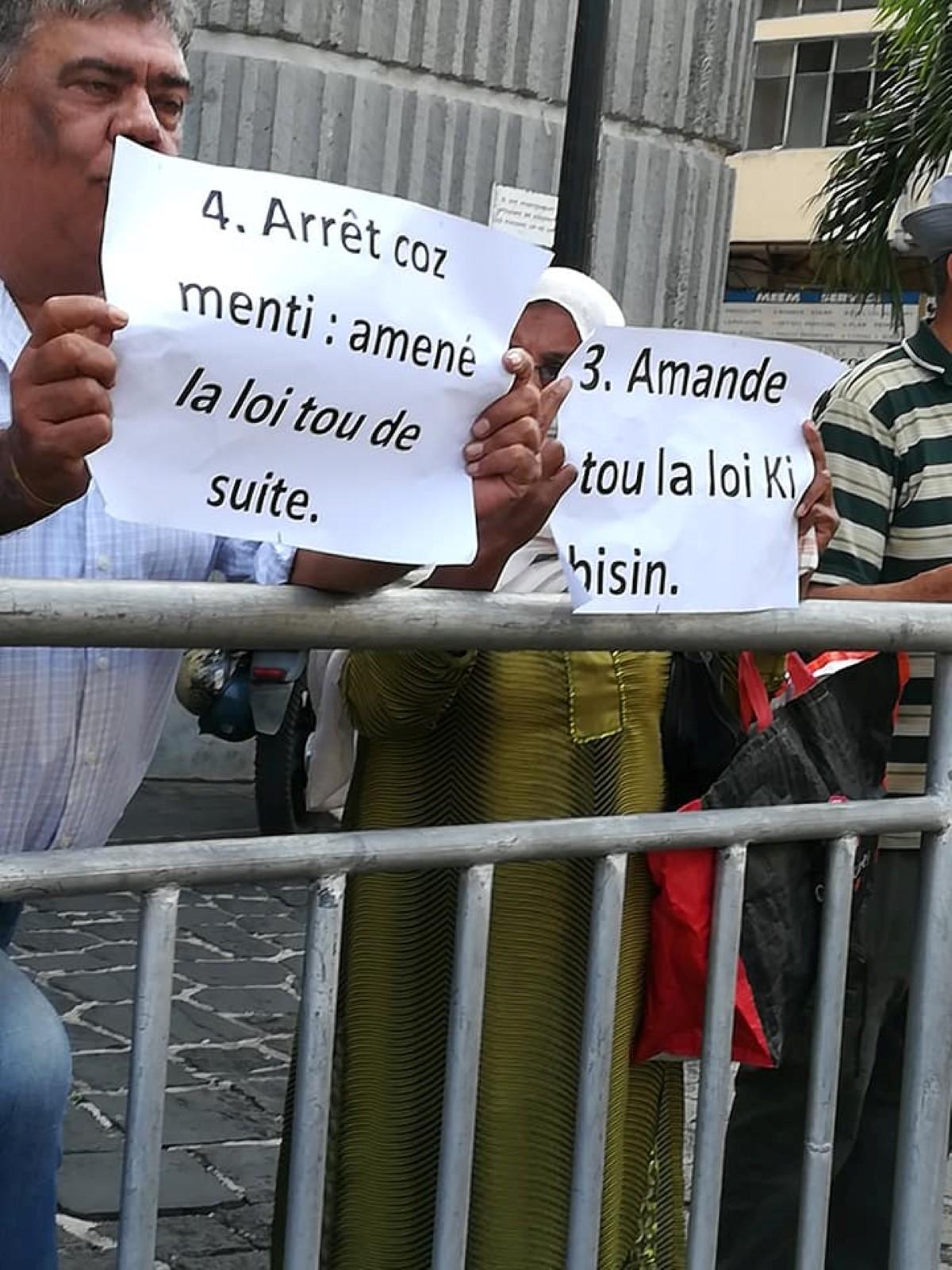 Land's Court : 3ème jour de grève de la faim