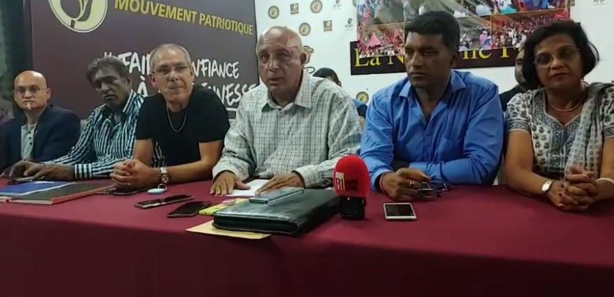 Mouvement Patriotique (MP) : Jean Claude Barbier nommé président, Alan Ganoo out