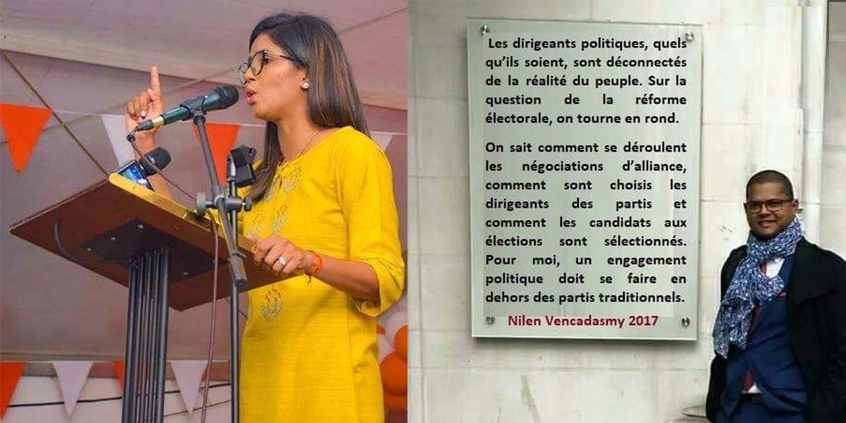 """Les """"jeunes"""" aspirants politiques rattrapés par les limiers du Net"""
