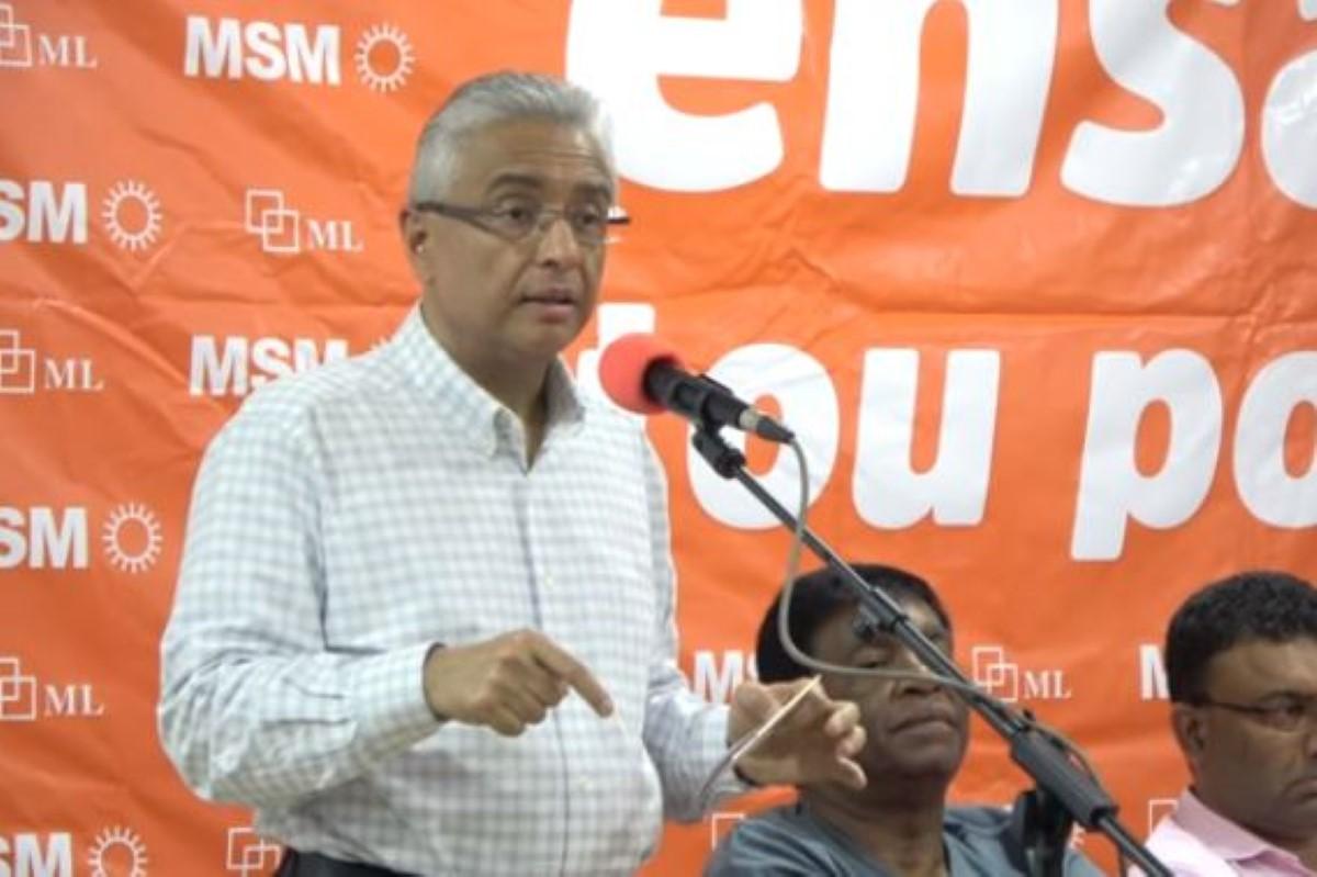 [Alliance Morisien] Pravind Jugnauth : «L'argent public couma mo l'argent. Kan mo depense, mo faire gagne value for money»
