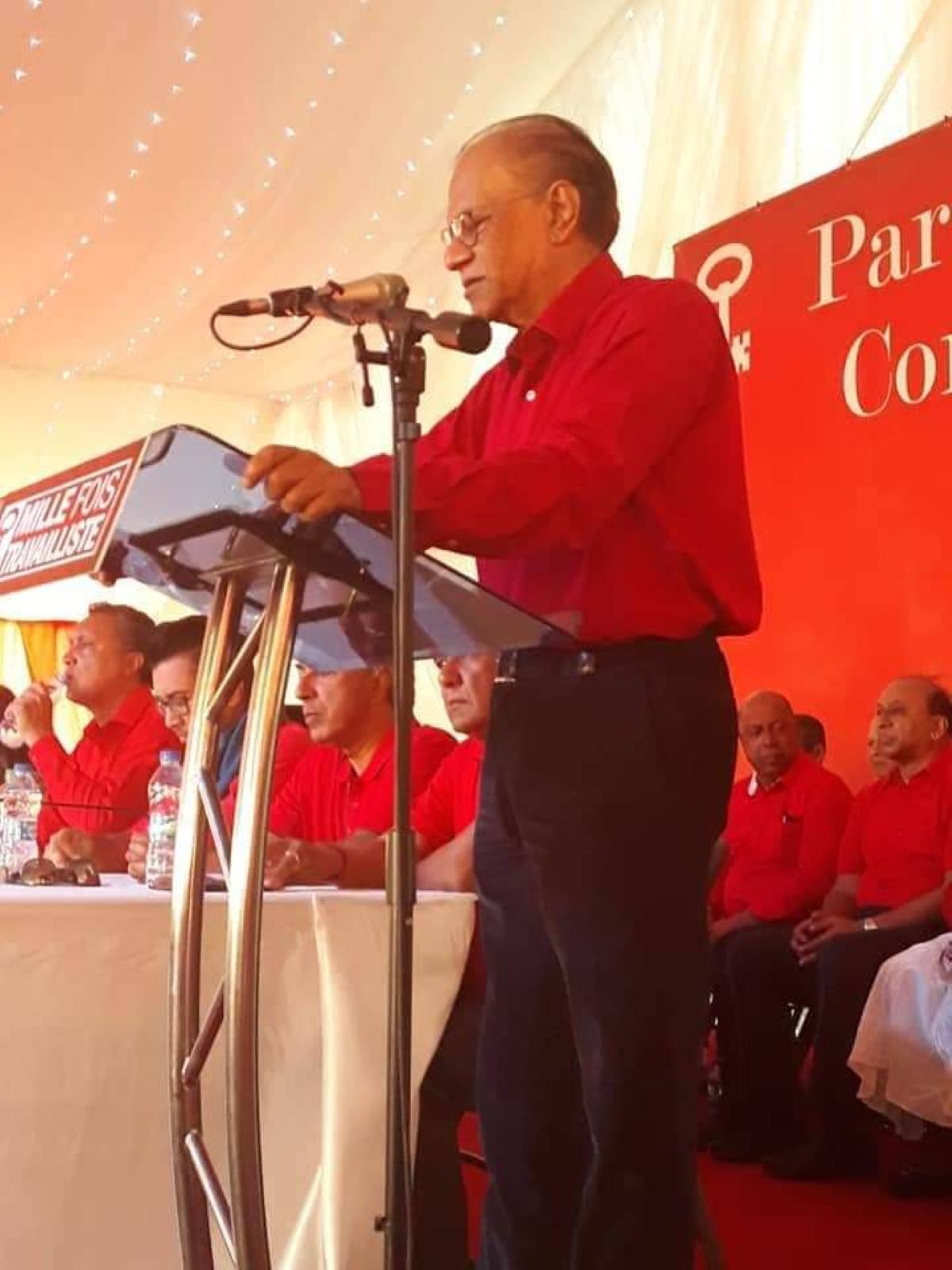 Navin Ramgoolam : «Ils avaient promis un miracle politique, mais cela n'a été qu'un mirage»