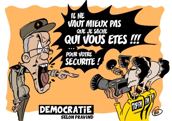 L'actualité vu par KOK : La démocratie selon Pravind Jugnauth
