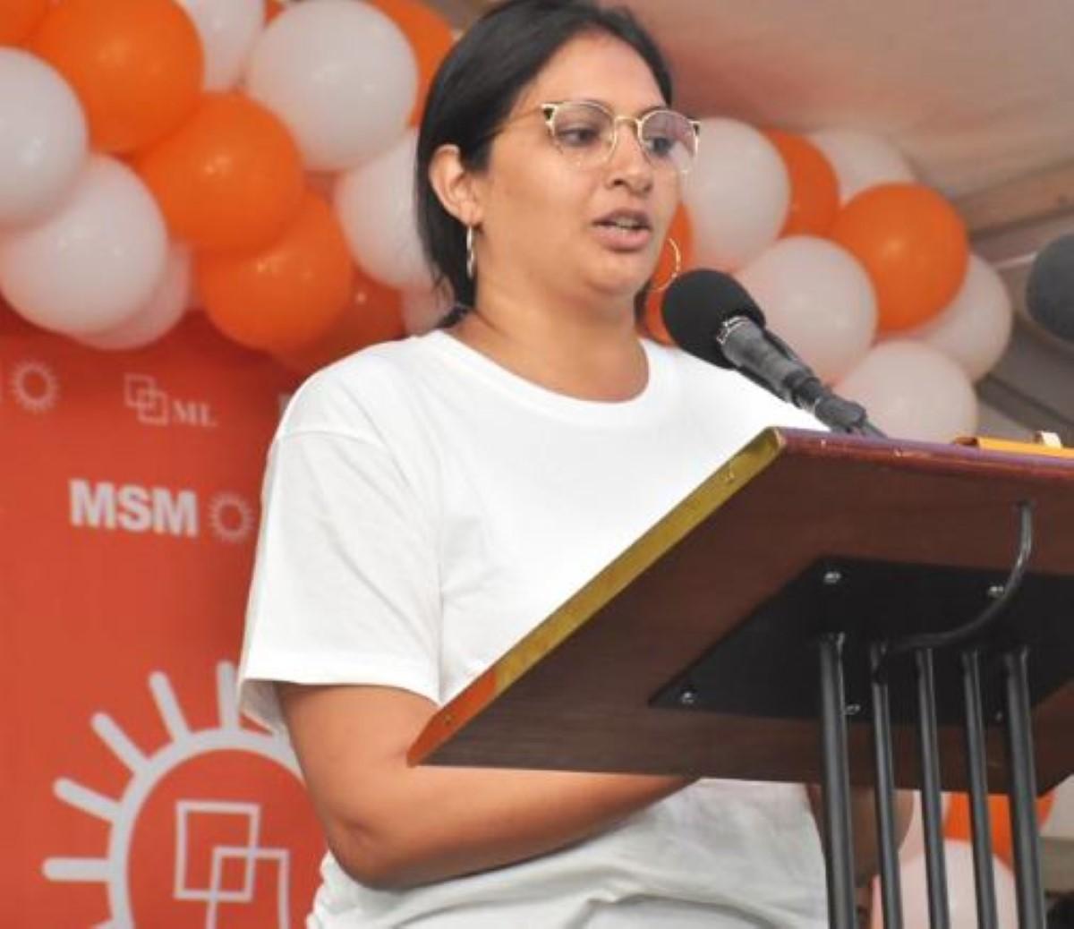 No 18 : Vikash Peerun, fils de l'ex-patron du NSS, candidat de l'Alliance Morisien auprès de Tania Diolle