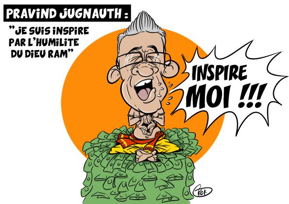 [KOK] Le dessin du jour :Célébrations de Divali, Pravind Jugnauth déclare «Je suis inspiré par l'humilité du dieu Ram»