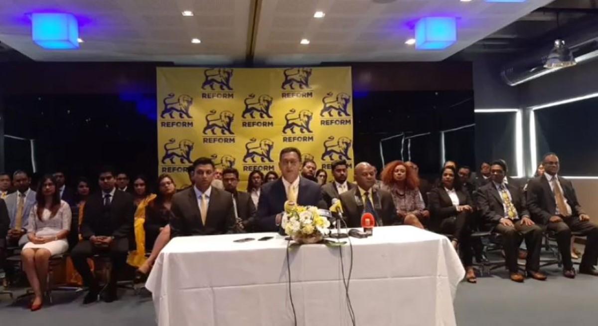[Législatives 2019] La liste des candidats du Reform Party