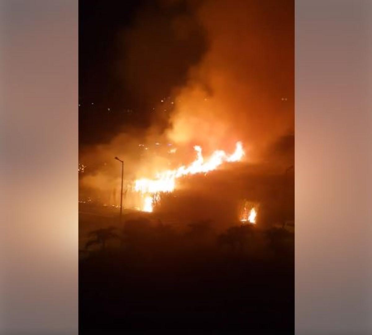 ▶️ Grand-Baie : Important incendie en cours dans des champs de cannes